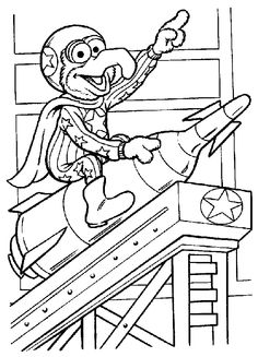 the muppet show color page coloring pages for kids cartoon characters coloring pages printable coloring pages color pages kids coloring pages - Amish Children Coloring Book Pages