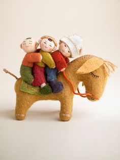 Kyrgyz kids on Donkey | IFAM | Online