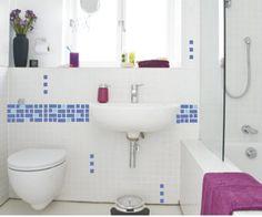 Adesivo banheiro
