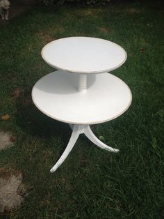 SOLD Beautiful two tier antique table by VintageSowles on Etsy