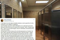 After her 10-year-old son was almost assaulted in a public restroom, this mom takes to Facebook to warn other parents.