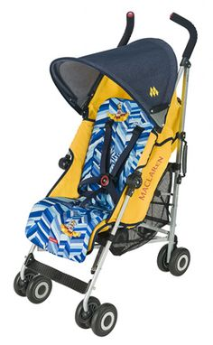 Boy or girl, our baby will have this awesome Yellow Submarine, Beatles stroller by Maclaren :)