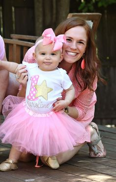 A super sweet Twinkle Twinkle Little Star first birthday party | via @Christina Marcellino