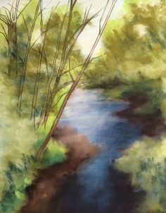 Pastel Lessons by Lewis Isaac Testa: NEW PASTEL LANDSCAPE LESSON