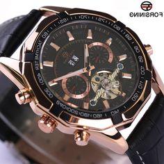 31.99$  Buy here - https://alitems.com/g/1e8d114494b01f4c715516525dc3e8/?i=5&ulp=https%3A%2F%2Fwww.aliexpress.com%2Fitem%2FForsining-Men-Automatic-Watch-Mechanical-Watch-Genuine-Leather-Strap-Men-s-Wristwatches-Luxury-Brand-Rose-Gold%2F32774541601.html - Forsining Men Automatic Watch Mechanical Watch Genuine Leather Strap Men's Wristwatches Luxury Brand Rose Gold Design Watches 31.99$