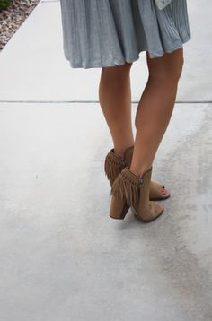 Skirt & booties