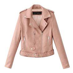 SERYU Lapel Winter Outerwear Womens Ladies Warm Artificial Wool Coat Jacket