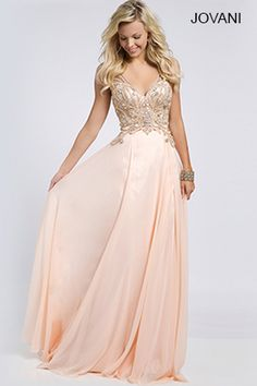 Sleeveless Chiffon Long Gown 22350