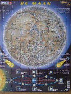 Larsen puzzel maan - 70 stukjes