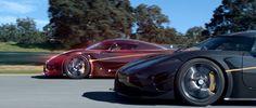 """Quem é melhor real ou virtual: hipercarros?    A experiência de jogos de corrida está cada vez mais real. Pensando nisso a fabricante de óleo para motores de alta performanceCastrol pensou num desafio onde colocam um Aston Martin Vulcan de verdade a correr com um virtual desafio """"Clone Rival"""". Para isso o piloto Darren Turner foi colocado para pilotar um Aston Martin Vulcan num simulador e depois com base nos melhores tempos colocado para competir com a versão real do mesmo piloto. No fim…"""