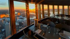 Sydney Tower Buffet - the view was outstanding as was the food (in 2009).