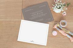 faire-part mariage Classique liseré by Marianne Fournigault pour www.Rosemood.fr pour fairepart.fr #fairepart #mariage #wedding