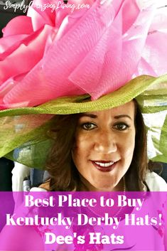 There is one hat store in Louisville that stands out above all others in regards to selection and pricing - Dee's.  Dee's Hats sell over 2,000 custom-designed in-store hats and over 700 online. Read for more details! #KentuckyDerby #DerbyHats #KentuckyDerbyHat #DeesHats #DeesHatsKentucky #getyourderbyhat #derbyhatheadquarters