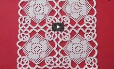 available for sale Filet Crochet, Crochet Doily Diagram, Crochet Lace Edging, Crochet Motifs, Crochet Chart, Irish Crochet, Crochet Doilies, Crochet Stitches, Crochet Home