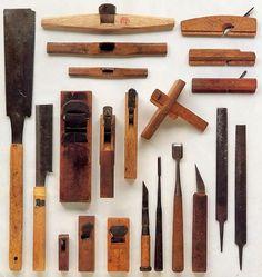Japanese sashimono tools