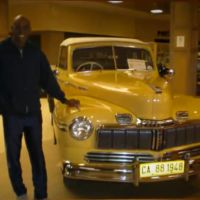 Antique and Classic Cars from the 1930′s to 1970′s in Car Expo at Mountain mall, Whitefish, MT.