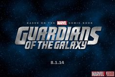 GUARDIANS OF THE GALAXY Concept Art and Marvel Title Logo - GeekTyrant