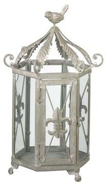 Fleur-de-Lis Lantern - eclectic - candles and candle holders - other metro - Colonial Candle