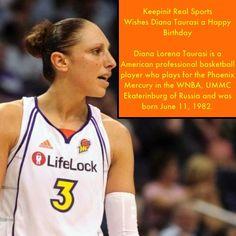 Keepinit Real Sports Famous Sports, Sports Birthday, Wnba, Basketball Players, Diana, Birthdays, American, Anniversaries, Birthday