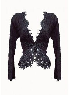 Claire Pettibone Lingerie: Athena Jacket