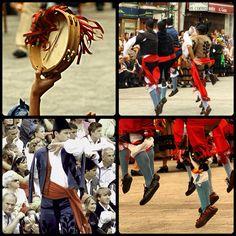 Bailes regionales en las Fiestas de San Roque #Llanes #Asturias