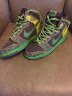 4c6a8a5ec470c5 Nike Dunk High Pro SB DE LA SOUL Size 11 Mens RARE 2000  Nike  Skateboarding