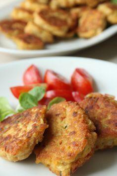 Sprøde linsedeller med chili | Crisp lentil 'meat'-balls with chili