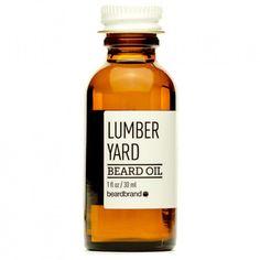 "Huile pour la barbe ""Lumber Yard"" Beardbrand"