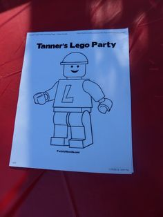 Style Oyster: Tanner's Lego Birthday Party