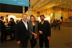 Cem Yılmaz, Contemporary Istanbul'un açılış gününe katıldı