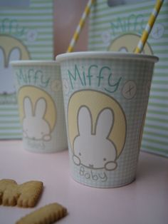 Miffy Party Cups
