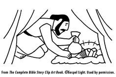 Matthew 17 The Transfiguration Sunday School Coloring