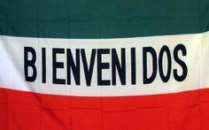 Bienvenidos (Welcome) 3'x 5' Advertising Business Flag