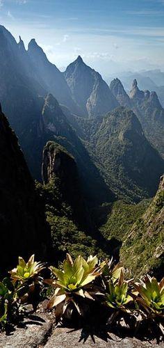 Serra dos Órgãos National Park - Rio de Janeiro, Brazil