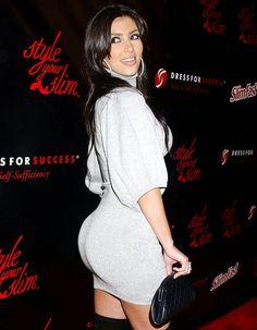 Kim Kardashian Quiets Butt Implant Rumors With FlashBACK Friday ...