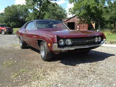 '70 Ford Fairlane 500- I had one of these-my first car - Red with a white top! Lots of memories!