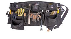 Deluxe Framing/Utility Set This custom, deluxe utility set offers the most room & material for the buck. The Crevasse offers enough pouches & versatility to please most any professional, in any setting. This set includes two Wrangell Pouches.