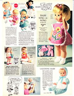 a page from the 1970 Sears Wishbook catalog. I got Baby Sing-a-Long for Christmas that year.