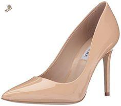 Steve Madden Women's Zoey Dress Pump, Blush Patent, 8 M US - Steve madden pumps for women (*Amazon Partner-Link)