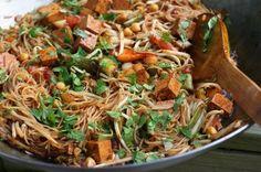 V e g a n   D a d: Thai-Style Sweet and Tangy Noodles