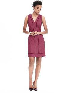 Herringbone Fringe Dress