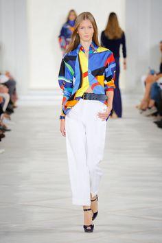 Ralph Lauren Spring Summer 2016 collection - New York Fashion Week September 2015