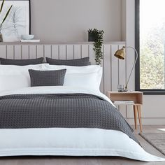 Luxury Bedspreads, White Bedspreads, Luxury Bedding, Gray Bedspread, Grey Bedding, King Size Bed Throws, Large Cushion Covers, Super King Size Bed, Luxury Throws