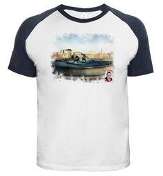 Camiseta Fuente de los surfistas (A Coruña)
