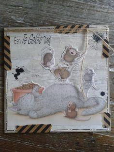 House mouse, gemaakt door Diana