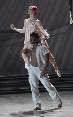 So You Think You Can Dance - one of my favorite dances from the show. Melissa Sandvig and Ade Obayomi dancing Tyce DiOrio's choreography about a woman with breast cancer.