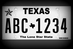We are impressed and surprised with the spartan Texas liscense plate.  Looks straight out of the 1960's.