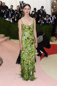 Mia Goth - Best Dressed at the 2016 Met Gala - Photos