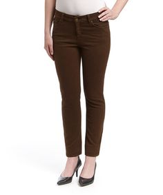 This Espresso Mustang Sally Straight-Leg Jeans by LNO jeans is perfect! #zulilyfinds