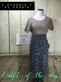 Outfit of the day! Message me for special pricing. https://www.facebook.com/groups/LuLaRoeAmyWinsteadVIPs/